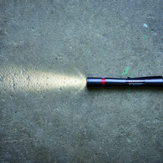 Matchpen on concrete